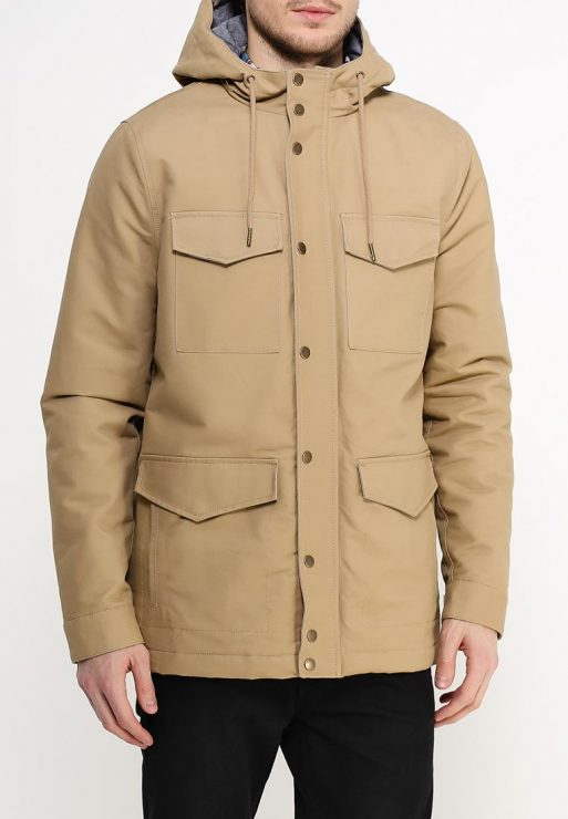 Bomber Parka Jacket 2 in 1 With Removable Hood