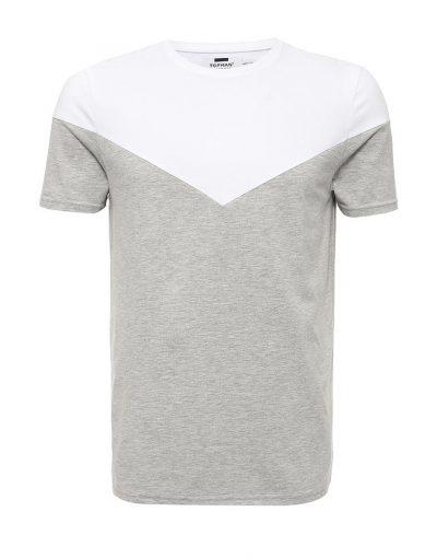 Oversized Sleeveless T-Shirt With Stripe Panel