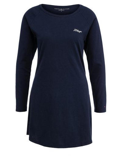Aline Dress with Pleated Yolk Front